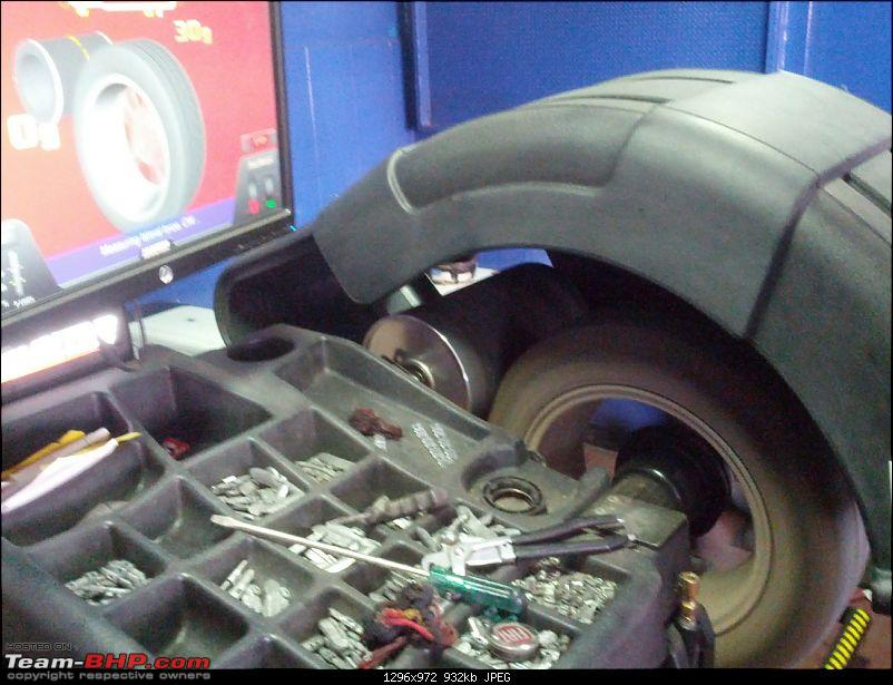 Wheel Alignment/Balancing : Madhus Enterprises (Langford rd, Bangalore)-img_20130329_113133-copy.jpg