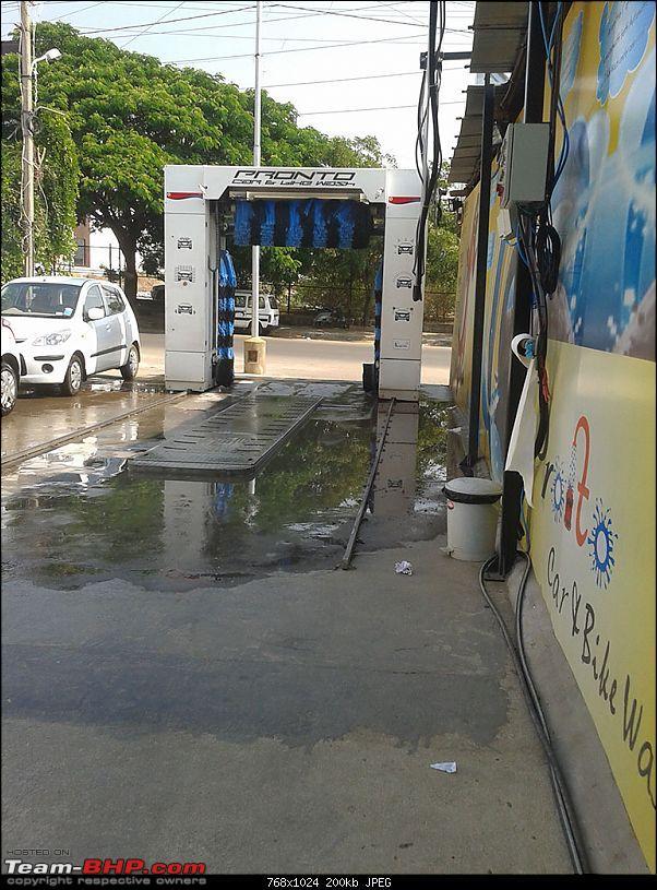 Pronto Automated Car and Bike Wash – HSR Layout, Bangalore-20130411_151458.jpg