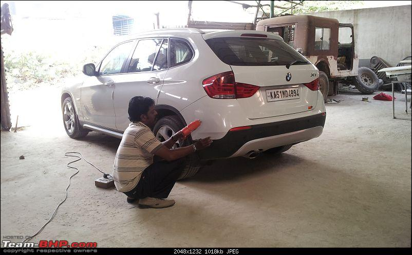 Body Repair & Painting, Glass Repair, Detailing etc. - Trend Automobiles (Bangalore)-20131207_105733.jpg