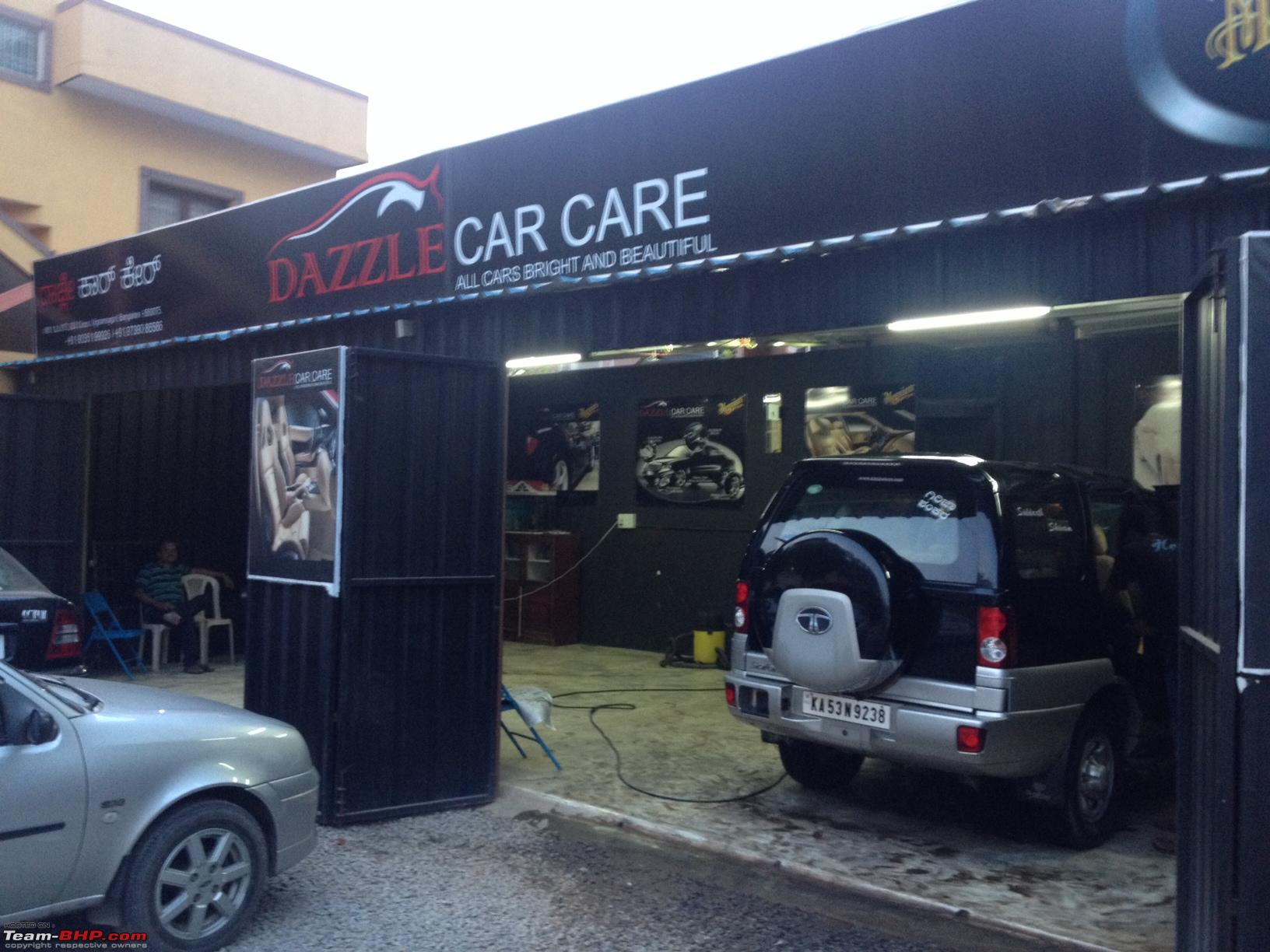 Car Wash Dazzle Car Care Bangalore Team Bhp