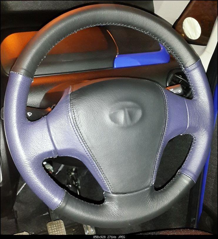 Leather Upholstery/Steering Grips: Devraj (JC Road, Bangalore)-20141029_181316.jpg