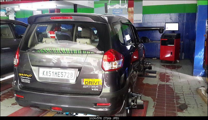 Wheel Alignment/Balancing : Madhus Enterprises (Langford rd, Bangalore)-20141104_143606.jpg