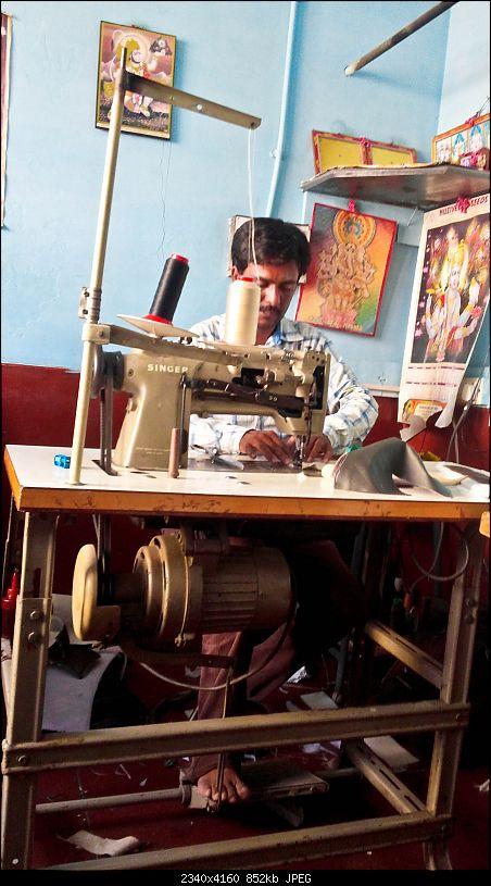 Leather Upholstery & Steering Grips: Devraj / Karthik Leather Arts (Bangalore)-20150425_165018.jpg
