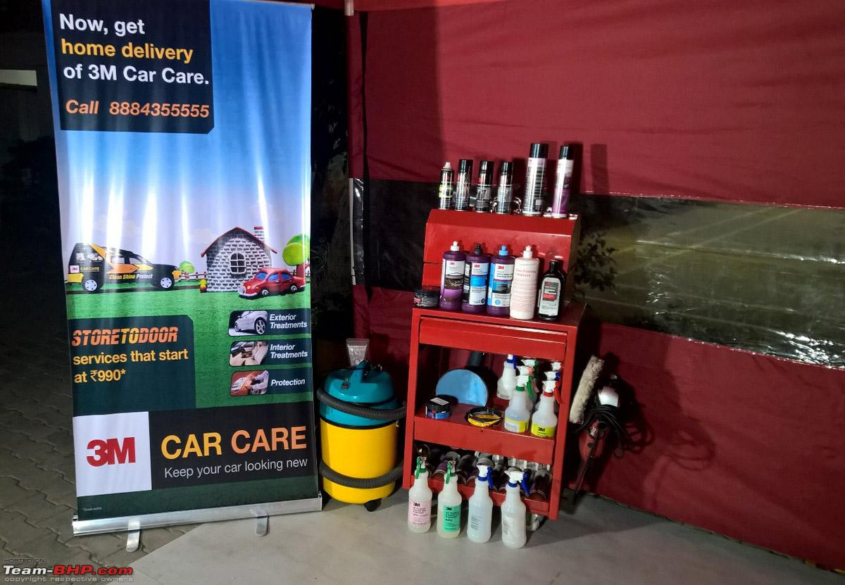 At Your Home Detailing 3m Mobile Car Care Bangalore