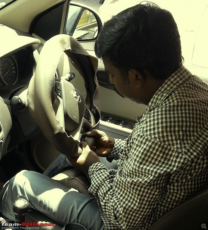 Leather Upholstery & Steering Grips: Devraj / Karthik Leather Arts (Bangalore)-7.jpg