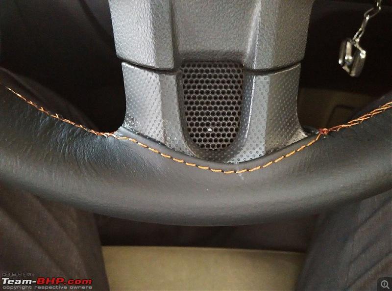 Leather Upholstery & Steering Grips: Devraj / Karthik Leather Arts (Bangalore)-img_20151010_164322.jpg
