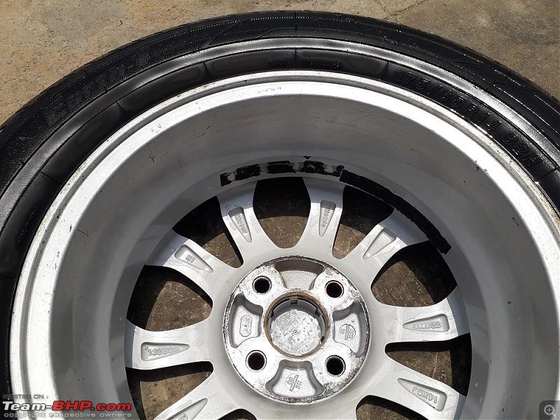 Wheel Alignment/Balancing : Madhus Enterprises (Langford rd, Bangalore)-20190523_125721.jpg