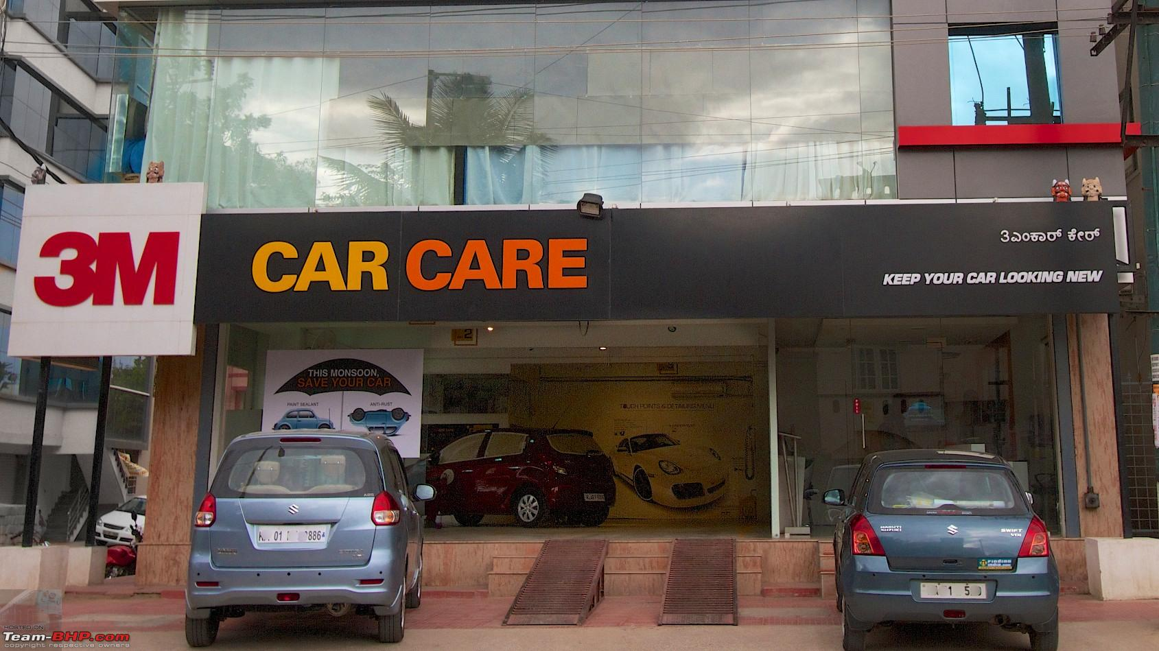 Spray Car Wash >> 3M Car Care (HSR Layout, Bangalore) - Page 21 - Team-BHP