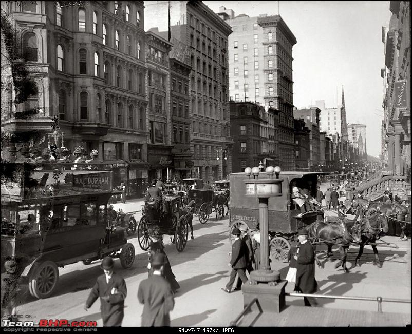 Old pictures of Vintage and Classic Cars beyond our borders-corner-fifth-avenue-42nd-street-new-york-1910.jpg