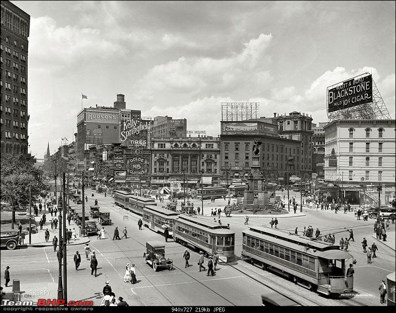 Old pictures of Vintage and Classic Cars beyond our borders-woodward-avenue-detroit-michigan-1917.jpg