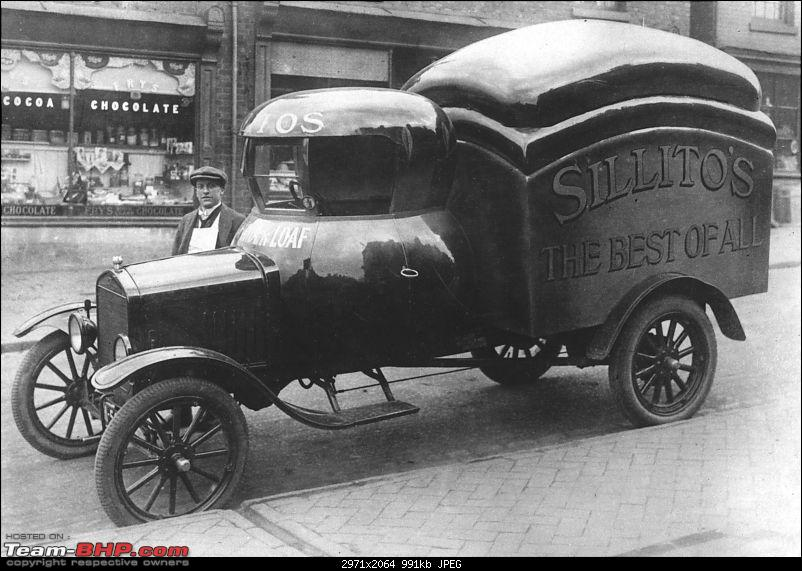 Automotive innovations and some unique modes of transport from the past-bread_loaf_shape_car.jpg