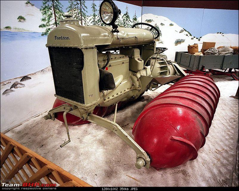 Automotive innovations and some unique modes of transport from the past-1280px1926_fordson_snowmobile.jpg