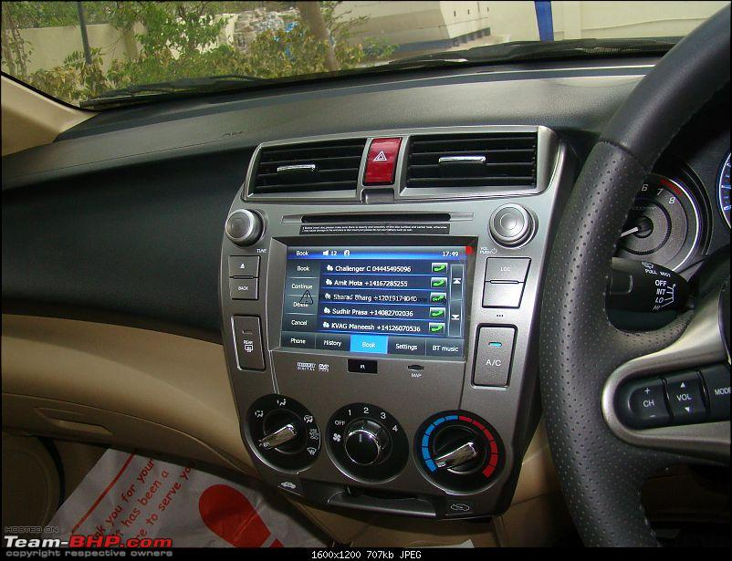 Honda City : A close look at the factory-fitted Audio, Video & Navigation System-5.jpg