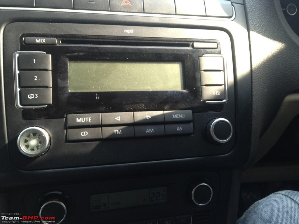 DIY: RCD 510 head-unit upgrade for VW Vento and Polo - Team-BHP
