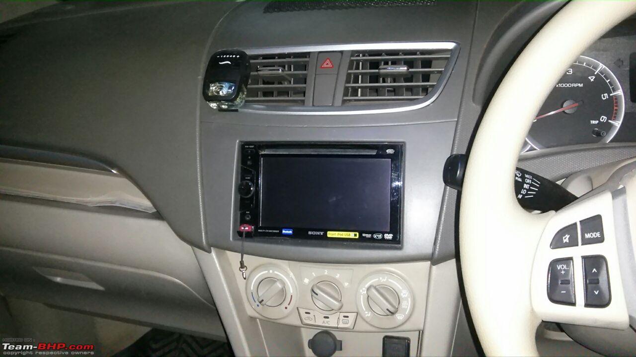 Ertiga diy installing a 2 din stereo with bluetooth ertiga dash6