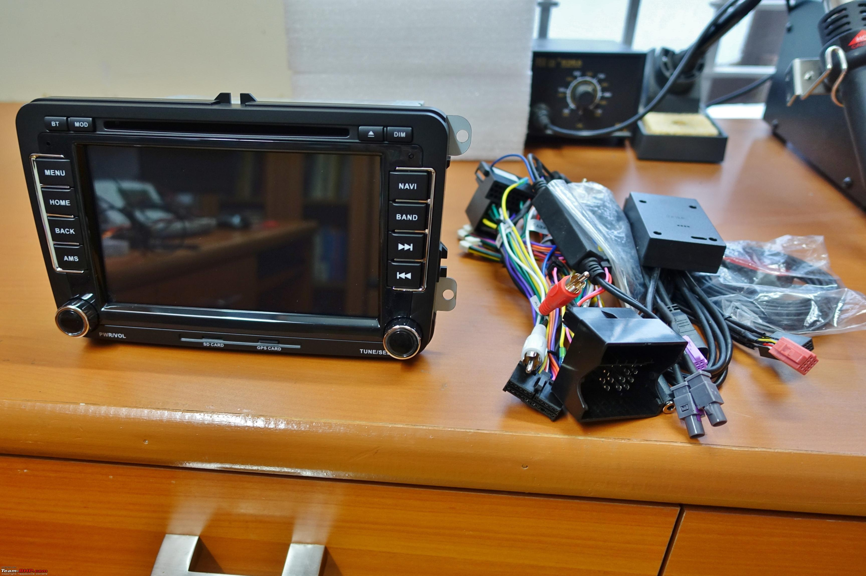 Android Head Unit In My Vw Polo Gt Tsi Team Bhp Consumer Electronics Vehicle Gps Units See Unpacked