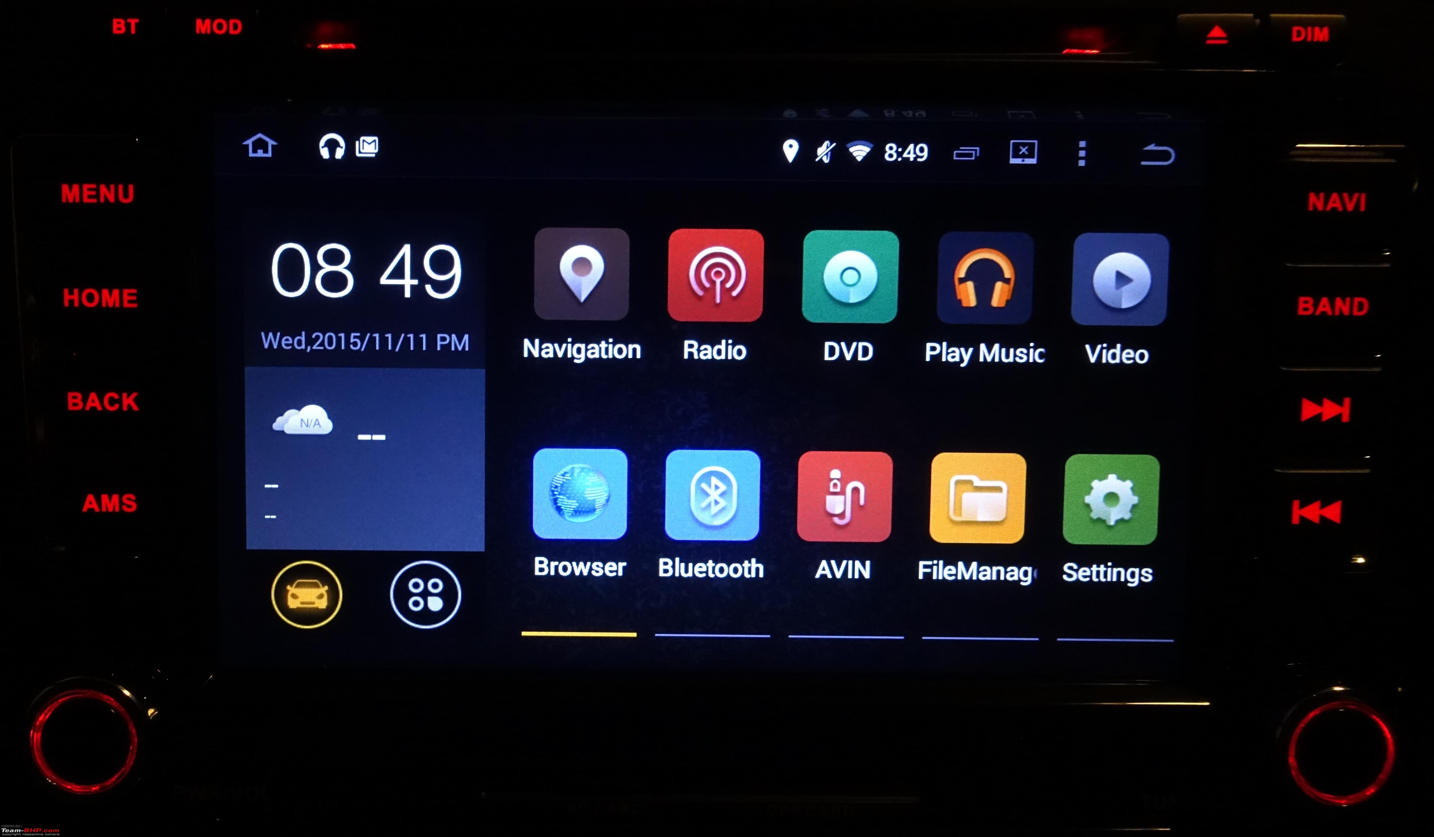 android auto head units member