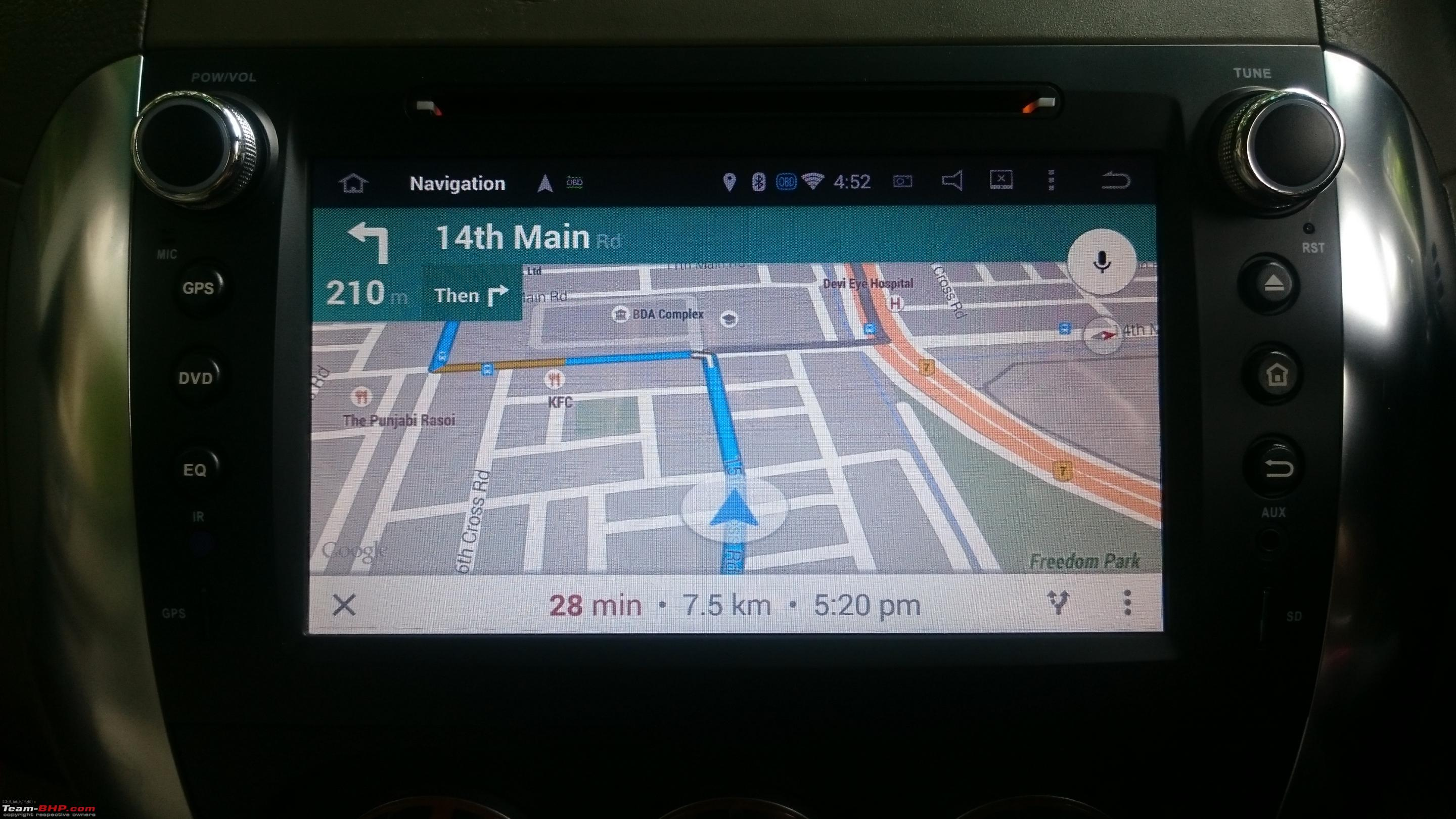 Review: Android Head-Unit in my Maruti SX4 - Team-BHP
