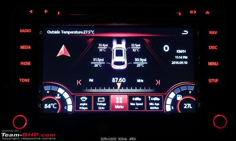 Installed! Audiosources DS611 head-unit in my Polo GT TSi-home-screen.jpg