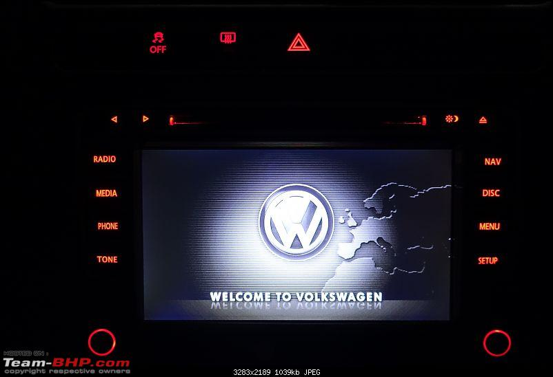 Installed! Audiosources DS611 head-unit in my Polo GT TSi-opening-screen.jpg