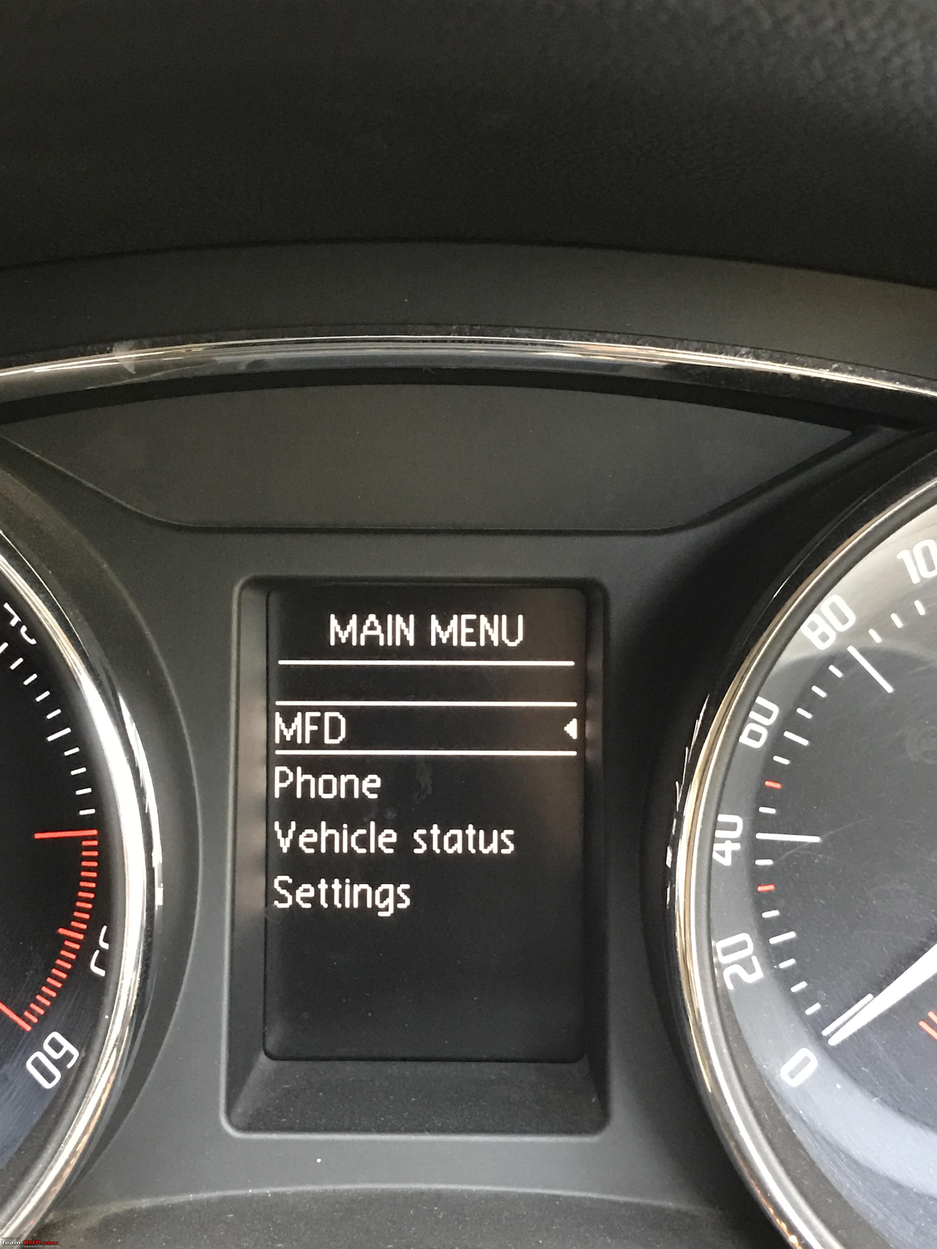 Skoda Superb: Swapped the stock Bolero system with an RCD330