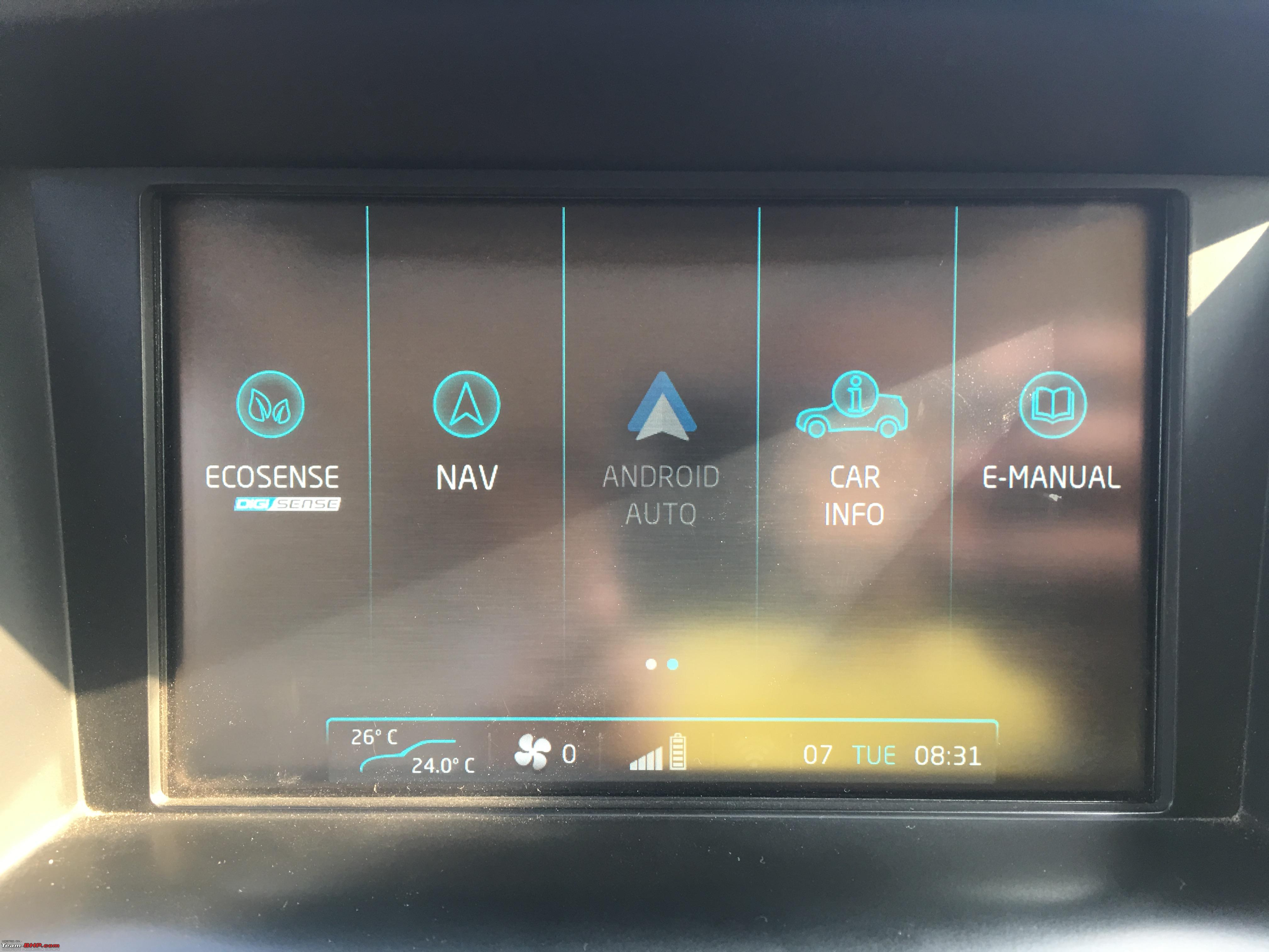 Mahindra xuv500 gets android auto connected apps img_1563 jpg