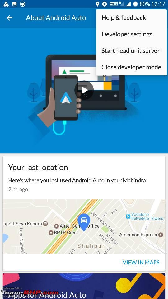 Mahindra XUV500 gets Android Auto, Connected Apps - Page 3