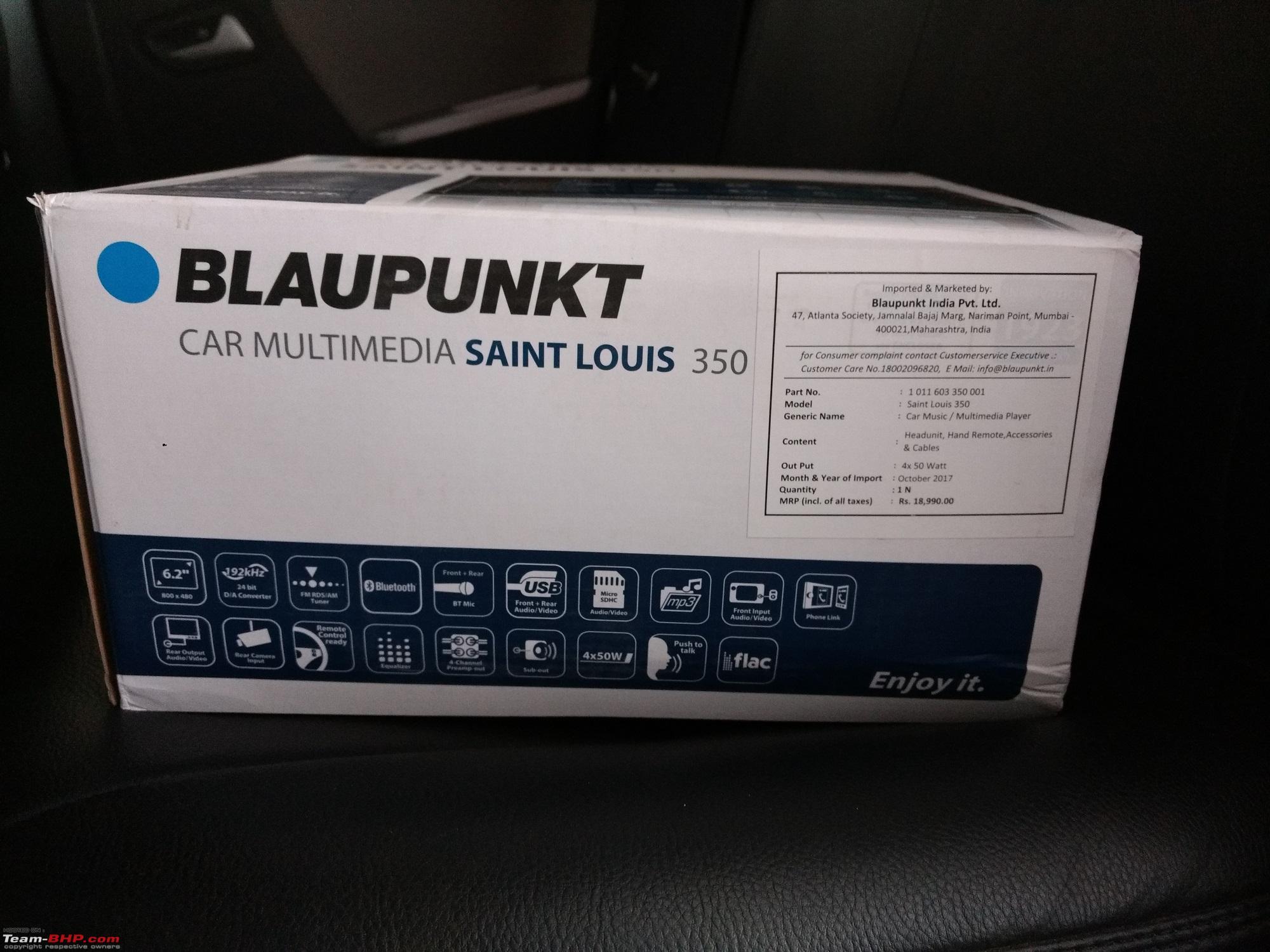 Blaupunkt saint louis 350 manual