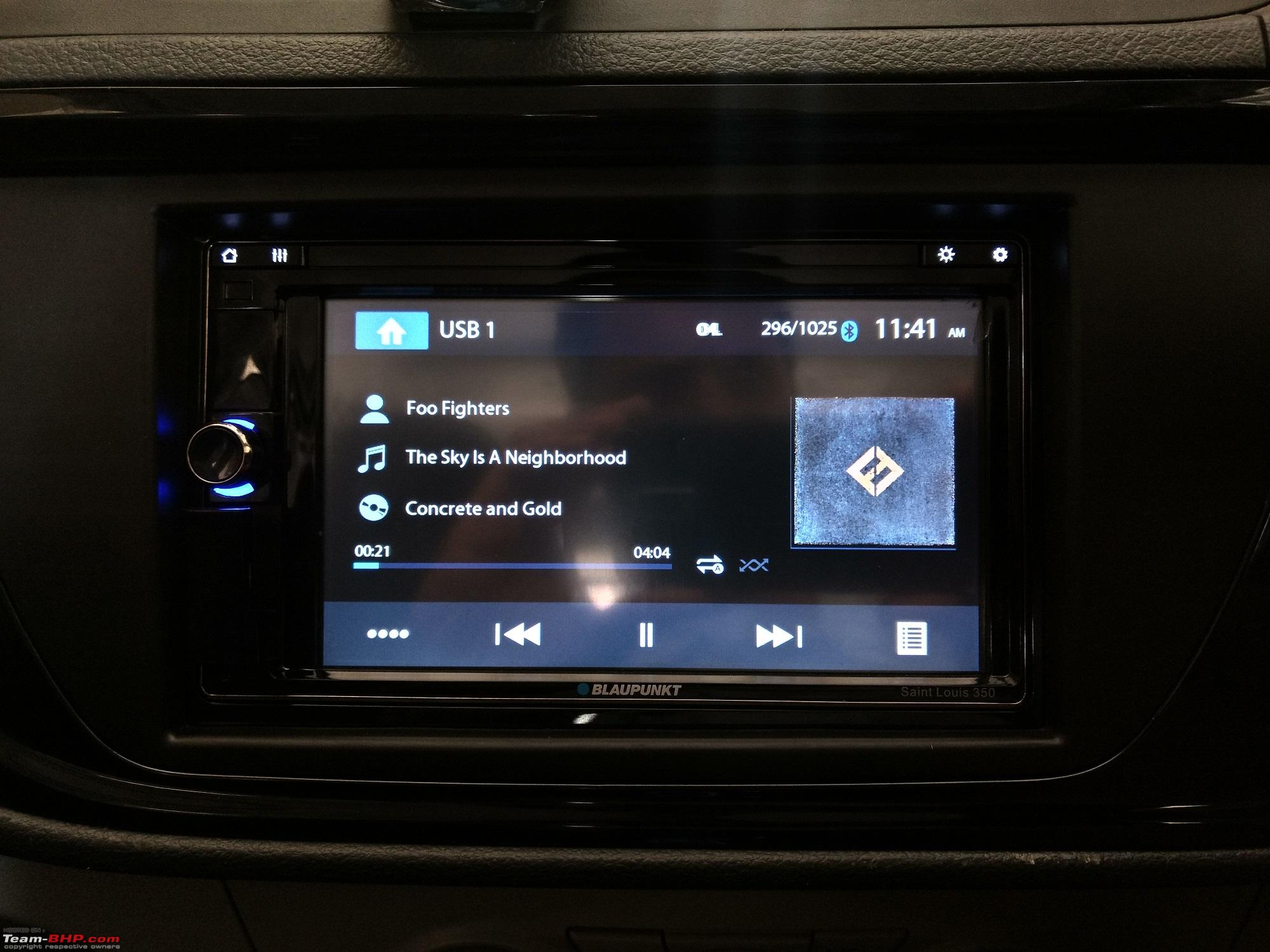 Head-Unit Review: Blaupunkt Symphony Saint Louis 350 - Team-BHP