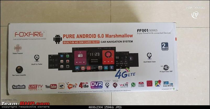 """Foxfire 10.1"""" 4G LTE Android Head-Unit upgrade in my Honda City-picture06.jpg"""