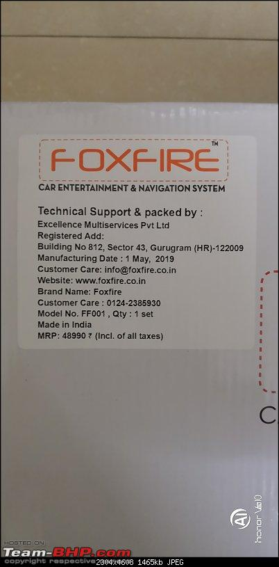 """Foxfire 10.1"""" 4G LTE Android Head-Unit upgrade in my Honda City-picture07.jpg"""