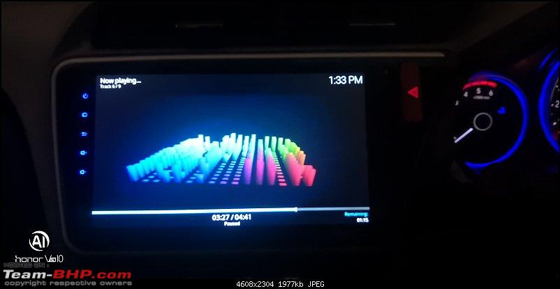 """Foxfire 10.1"""" 4G LTE Android Head-Unit upgrade in my Honda City-picture35.jpg"""