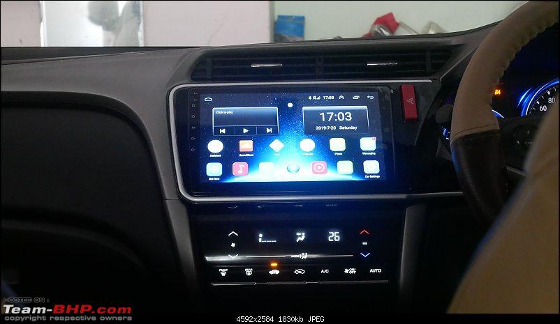 """Foxfire 10.1"""" 4G LTE Android Head-Unit upgrade in my Honda City-picture02.jpg"""