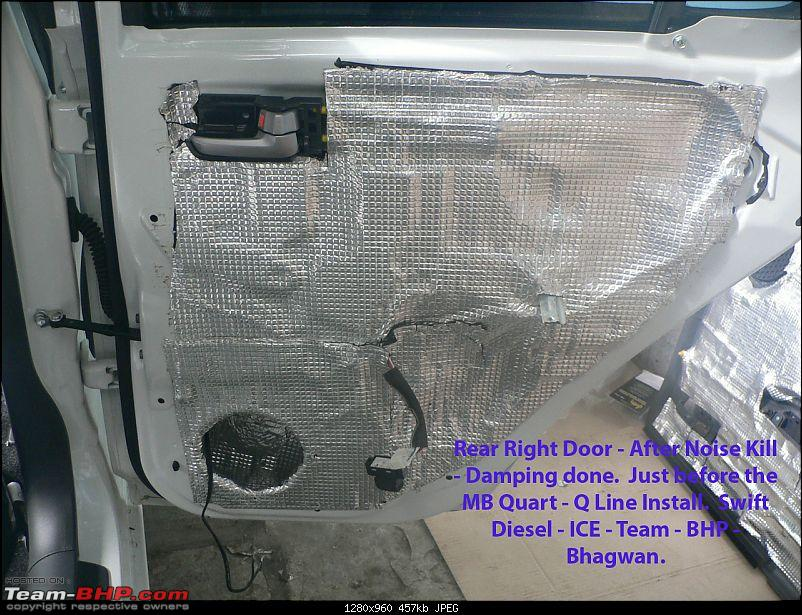 Swift - Diesel - ICE - Steg + MB Quart [Q Line] + Illusion [Carbon].-right-rear-door-after-damping-before-midwoofer.jpg