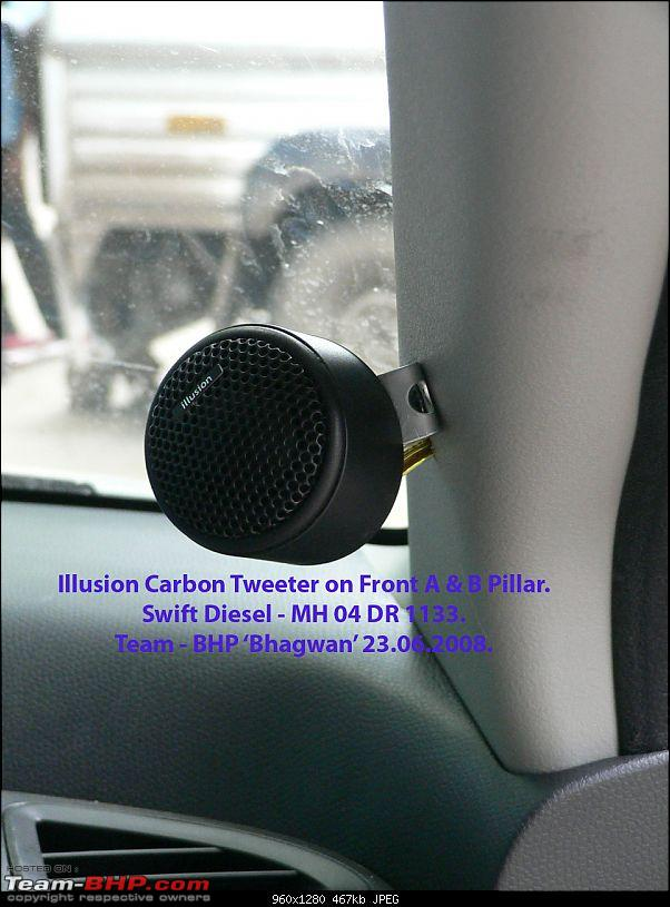 Swift - Diesel - ICE - Steg + MB Quart [Q Line] + Illusion [Carbon].-illusion-audio-tweeter-mounted-pillar-23.06.2008.jpg