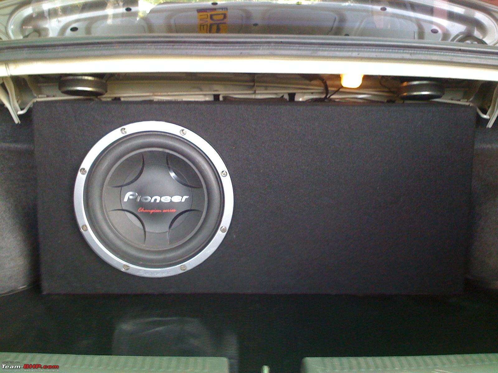 "Enclosure design for pioneer 12"" Subwoofer - Page 2 - Team-BHP"