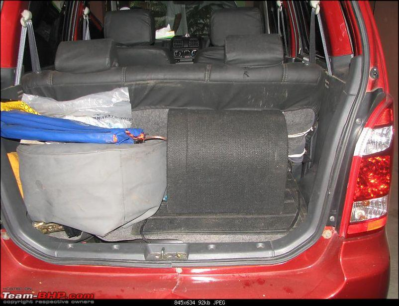 WagonR - Alpine+Coustic+Kicker=Space Saving (No tall claims though!!!)-subinboot2.jpg