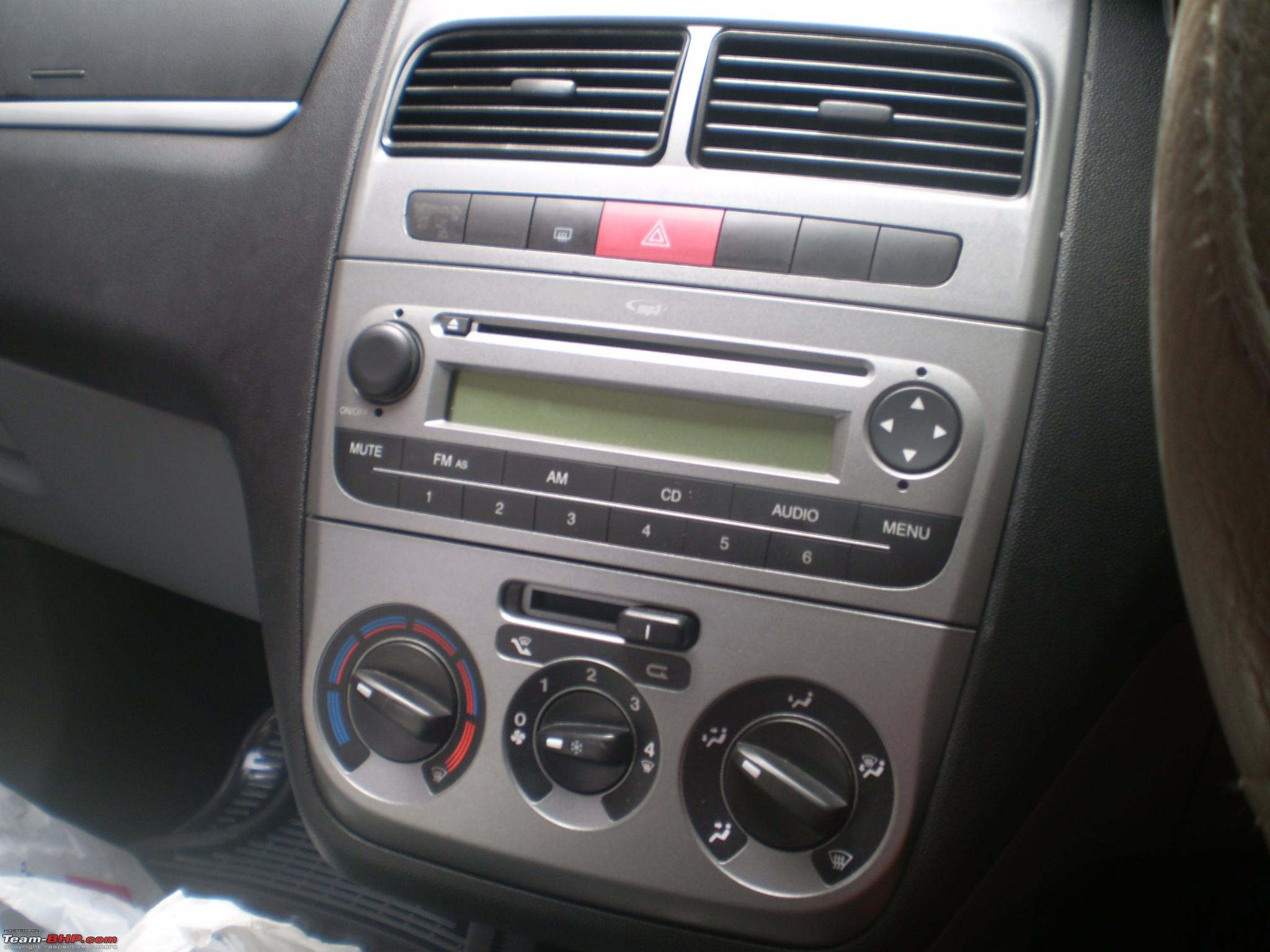 Hedendaags PICS & Details : Upgraded my Punto headunit - Team-BHP WL-59