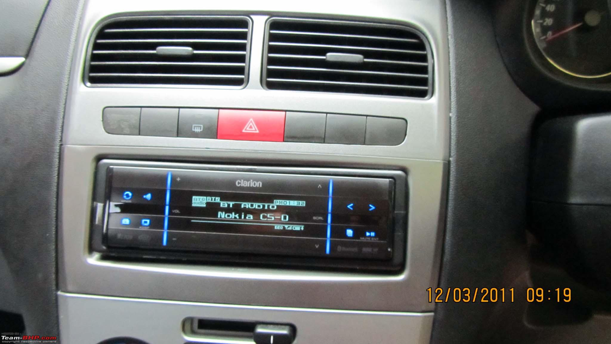 Pics Details Upgraded My Punto Headunit Team Bhp Audio System Wiring Img 0560
