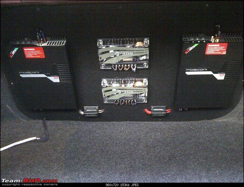 A red hot rapid install in a red hot (Skoda) Rapid-37.jpg