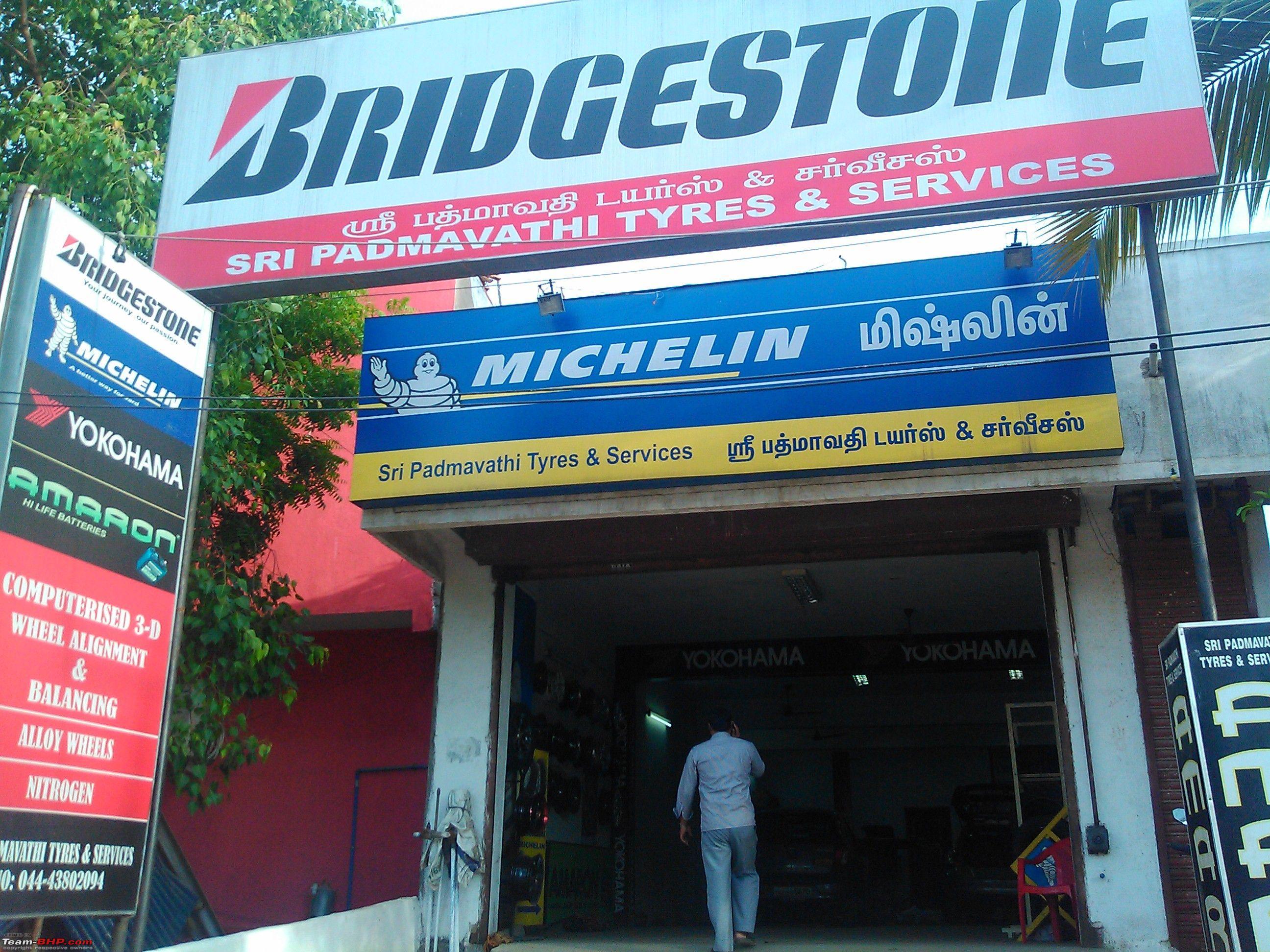 Wheel Tyre Shop Sri Padmavathi Tyres Porur Virumgambakkam