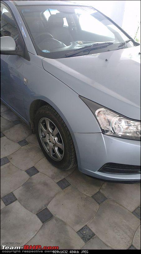 Exterior & Interior Detailing - Car Cares (Chennai)-cruze-being-polished2.jpg