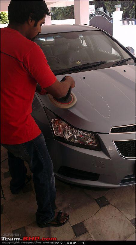 Exterior & Interior Detailing - Car Cares (Chennai)-cruze-being-polished4.jpg