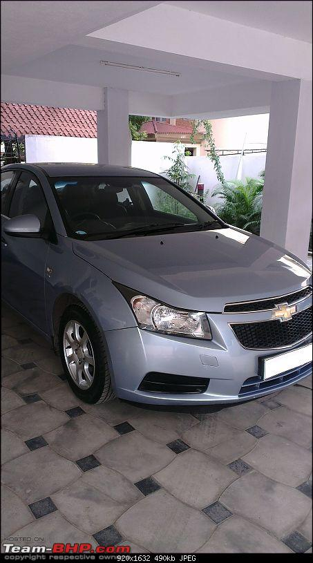 Exterior & Interior Detailing - Car Cares (Chennai)-cruze-being-polished8.jpg