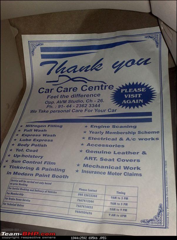 Maintenance & Repairs : Bosch Car Care Centre (Vadapalani, Chennai)-29092011963.jpg