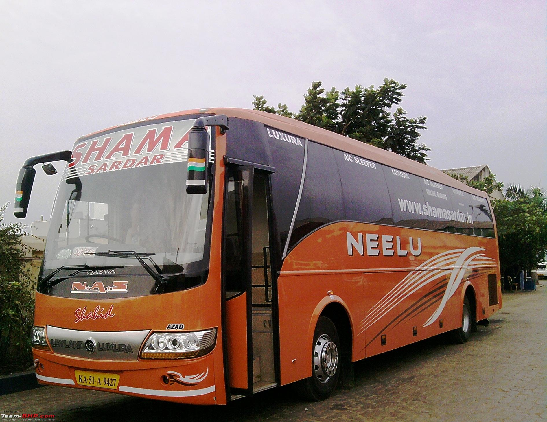 Travels Bus in Chennai Intercity Bus Travel