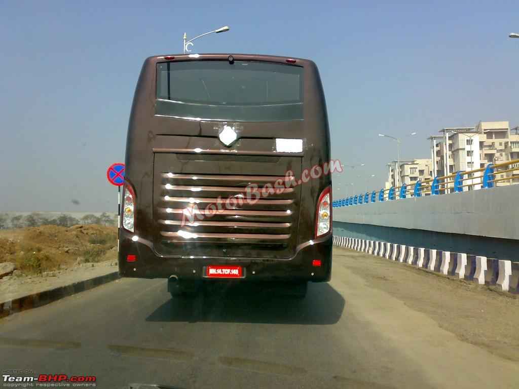 Scoop Mahindra Navistar Rear Engined Bus Spotted Page 2