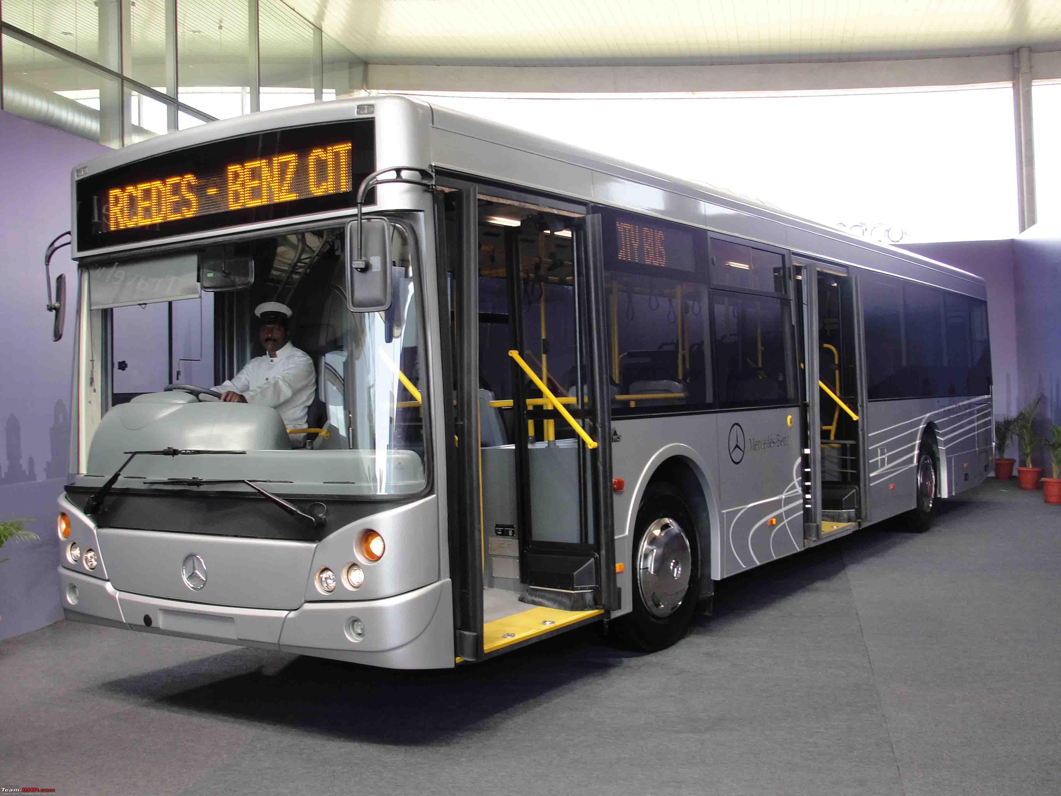 Ksrtc mercedes benz bus for Mercedes benz busses