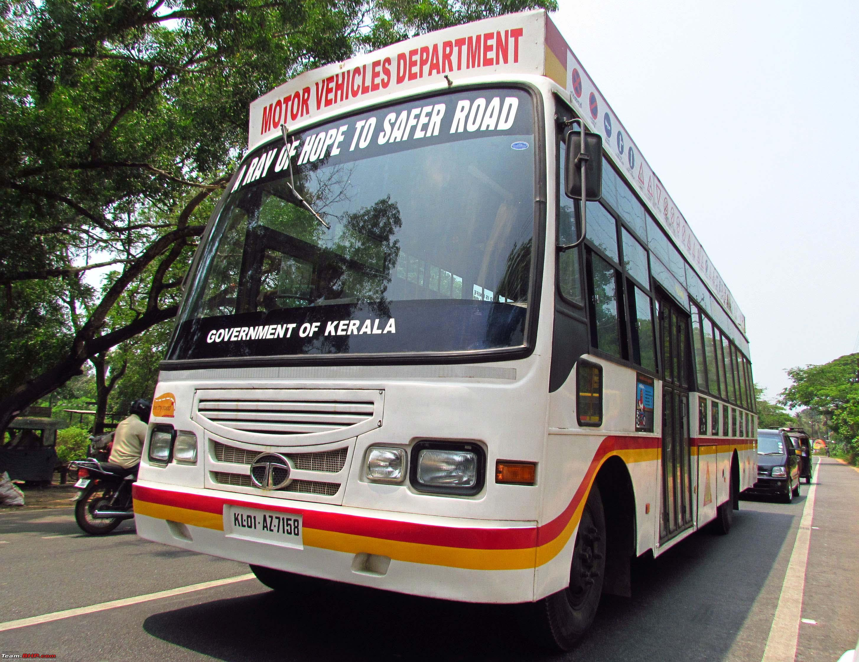 Non commercial buses in india team bhp for Commercial motor vehicle definition