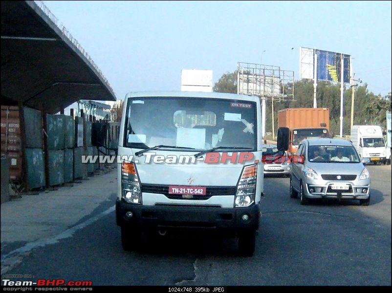 SCOOP : Nissan Commercial Vehicle spotted testing EDIT : Now as Ashok Leyland-img_7639.jpg